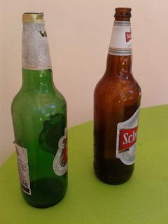 33 Envases De Cerveza De 1 Litro
