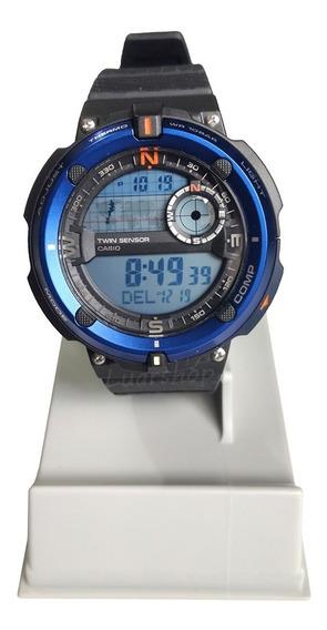 Relogio Casio Digital Sgw-600 Bussola Termometro Original Nf