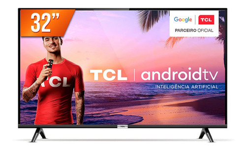 Smart Tv Led 32'' Hd Tcl 32s6500s Hdmi Usb Android Os Wi-fi