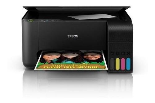 Impressora A Cor Epson Ecotank L3110 Preta 110v/220v