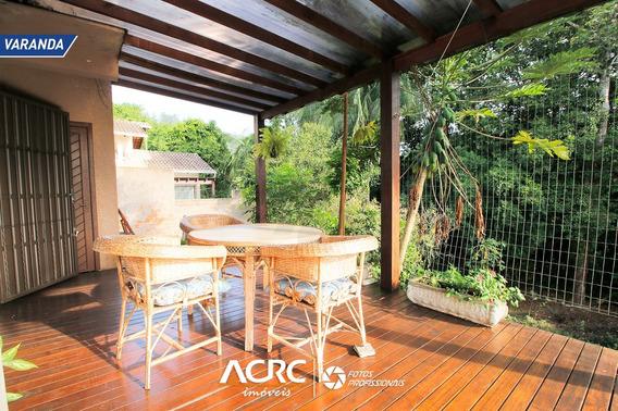 Acrc Imóveis - Casa Semi Mobiliada Em Condomínio Fechado Para Locação No Bairro Velha - Ca01384 - 67861141