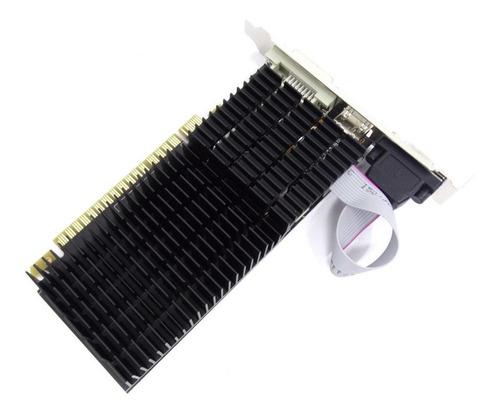 Imagem 1 de 3 de Placa De Vídeo Afox Geforce Gt710 2gb Gddr3 64bit