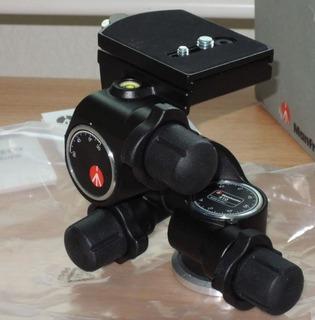 Manfrotto 410 - Cabezal A Engranajes Nikon Cannon Sony
