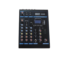 Mesa De Som Mixer Boxx Kg05 5 Canais C/ Mp3 Player Usb