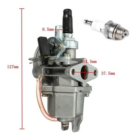 Carburador + Vela Mini Moto E Quadriciclo 49cc 47cc Todas