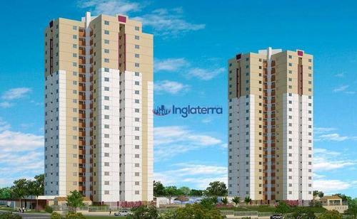 Apartamento À Venda, 78 M² Por R$ 421.000,00 - Gleba Palhano - Londrina/pr - Ap0913
