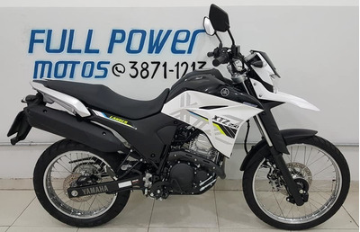 Yamaha Xtz 250 Lander Blueflex Branca 2020 Abs