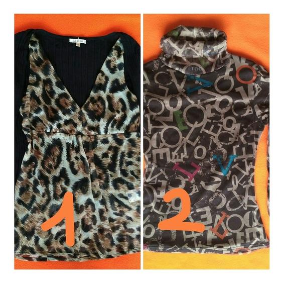Blusa/sweater De Dama Talla S/m Importado Y Sweater Talla M