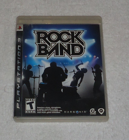 Rock Band 1 E Rock Band 2 Ps3 ** Frete Grátis Leia