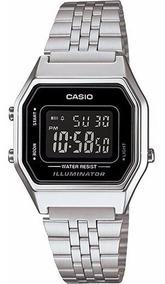 Relógio Casio Feminino Retro La680wa-1bdf - ( Nota Fiscal )
