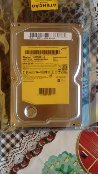 Hd 320gb Sata 3.0gb/s Pc 7200rpm Interno 3.5 Desktop