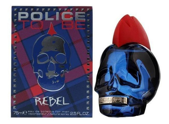 Perfume Police To Be Rebel Eau De Toilette Masculino 75 Ml