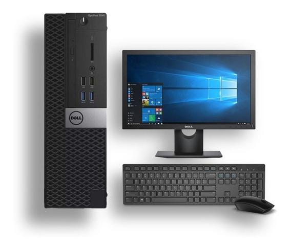 Computador Dell 3040 I5 6° Geração 8gb 120ssd Monitor 19