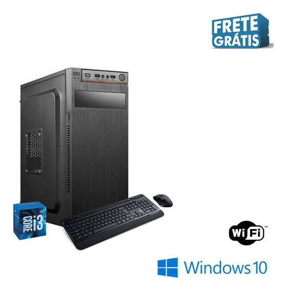 Pc Torre Star Core I3 4gb Ram Ssd 480gb Windows 10 Frete.