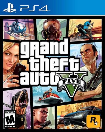 Imagen 1 de 3 de Grand Theft Auto 5 Gta 5 V Ps4 Original + Garantía + Español