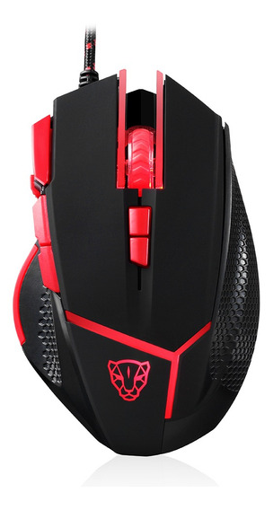 Motospeed Wired Mouse Gaming Mouse 4000 Dpi 9 Botões Ratos