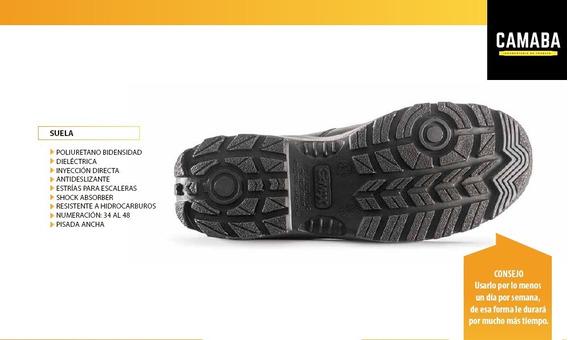 Zapato De Trabajo Y Calzado De Seguridad Gamax Mod105