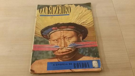 Revista O Cruzeiro Matéria Sobre Marechal Rondon 1957