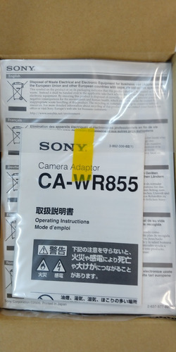 Sony Adaptador Cawr855