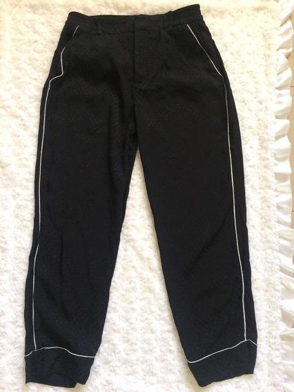 Pantalón Dama Negro Zara