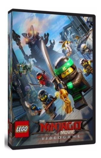 Lego Ninjago O Jogo - Pc Dvd - Mídia Física - Frete 8 Reais