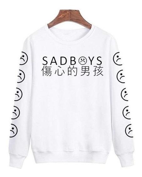 Sudadera Sad Boys Emoji Moda Asiatica Envio Gratis