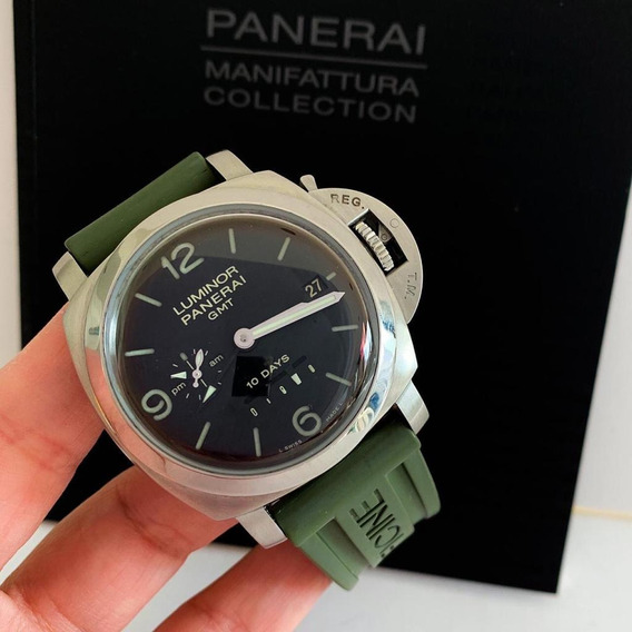 Panerai Luminor 1950 10 Days Gmt Completo Novíssimo