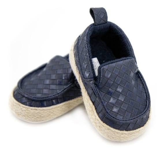 Zapatos Casuales Tipo Mocasin Para Bebe Niño 03891
