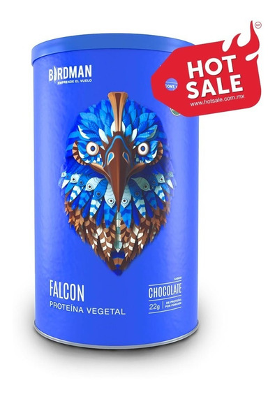 Falcon Protein 510gr Birdman Proteina Organica Vegana