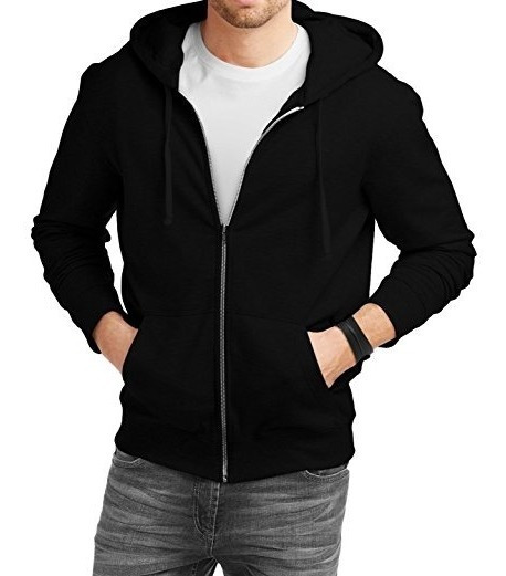 Conjunto Calça + Blusa Frio Moletom Ziper E Capuz Masculino