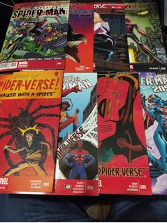 Spider-verse Evento Completo 32 Comic Marvel Televisa 2015