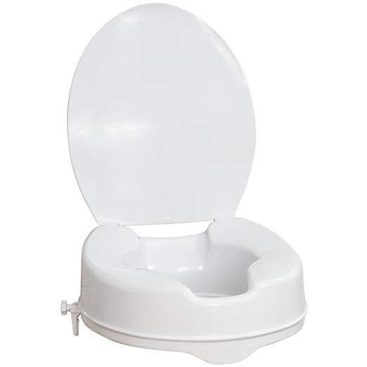 Aumento Asiento Extencion Para Wc Baño Con Tapa Incluida