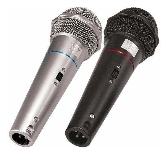 Microfone Dinâmico Csr 505 C/ Fio Par Voz Vocal Vocalista