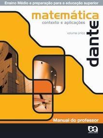Matemática Contexto E Aplicações - Dante