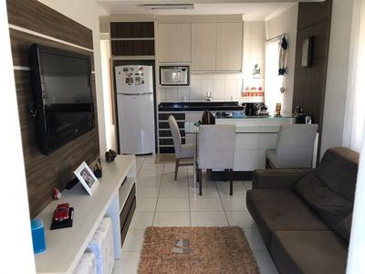 Apartamento Mobiliado A Venda Em Bombas - Vi102-1