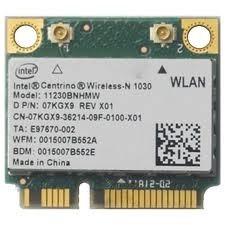 (lpc0085)... Mini Placa Intel Centrino Wireless N 1030