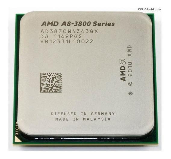 Processador Amd A8-3800 A8-3870k Quad Core 3.3ghz *usado*