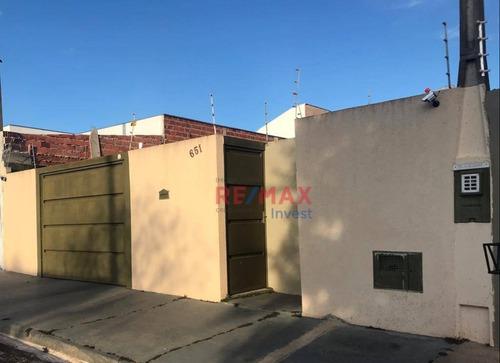 Casa Com 2 Dormitórios À Venda, 110 M² Por R$ 265.000,00 - Residencial Cedro - Botucatu/sp - Ca1103
