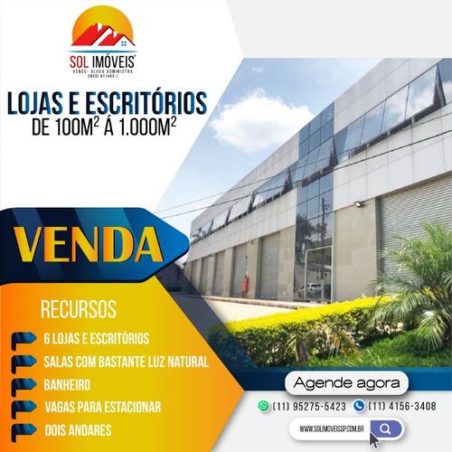 06 Lojas 1000m² Cada Á Venda - Santana De Parnaíba