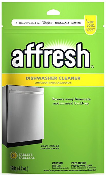 Affresh W10282479 Lavavajillas Cleaner, 6 Comprimidos