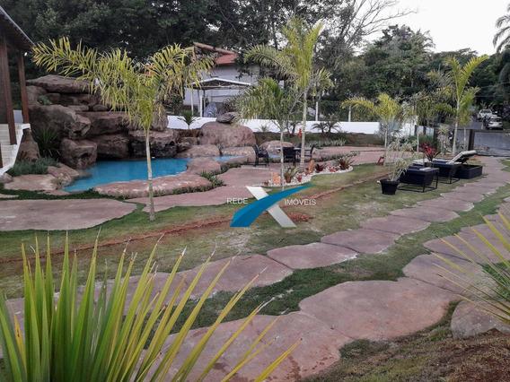 Casa Com 5 Dormitórios À Venda, 900 M² Por R$ 4.500.000,00 - Condominio Amendoeiras - Lagoa Santa/mg - Ca0680