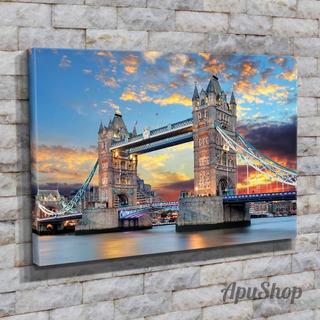 Cuadros Lienzo Tela 90x60 Puente Tower Bridge Londres Y Más
