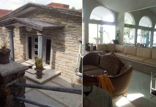 En Venta Residencia En Huertas La Joya, 5 Recámaras, 6 Baños