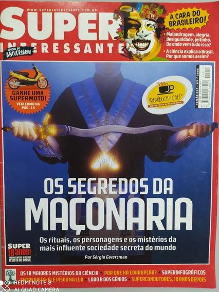 Revista Super Interessante Os Segredos Da Maçonaria - 2005