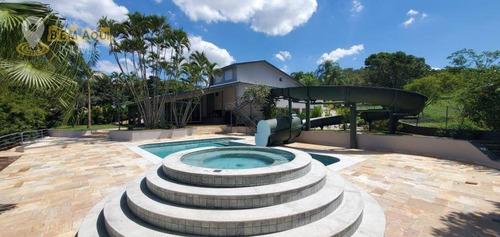 Imagem 1 de 30 de Casa Com 5 Dormitórios À Venda, 850 M² Por R$ 7.500.000,00 - Condomínio Terras De São José I - Itu/sp - Ca1479