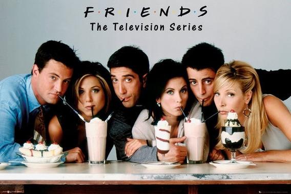 Poster Importado De La Serie Televisiva Friends - Milkshake