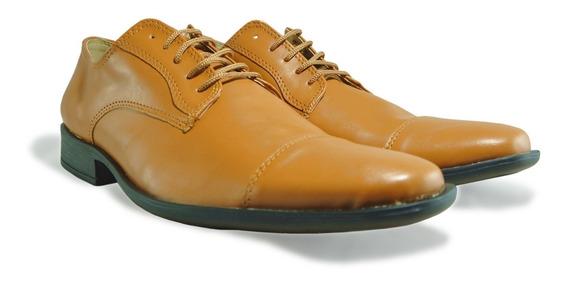 Zapato De Vestir Hombre Con Cordón Fiesta Moda ( 2 Colores )