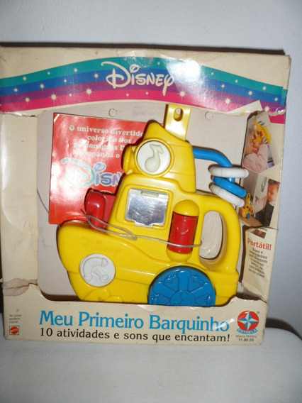 Meu Primeiro Barquinho Estrela Mattel Usado 10 Atividades