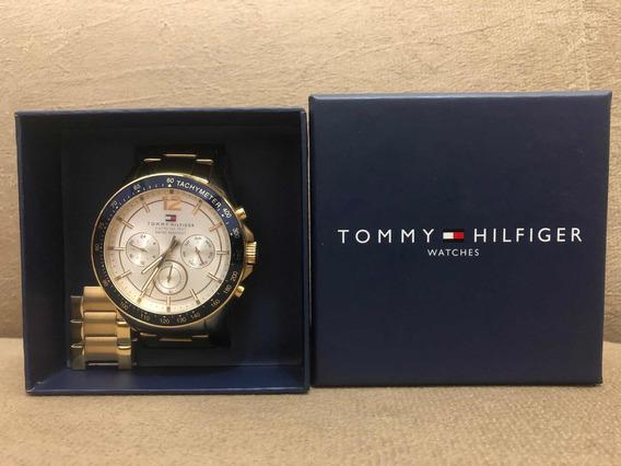 Relógio Masculino Tommy Hilfiger Dourado