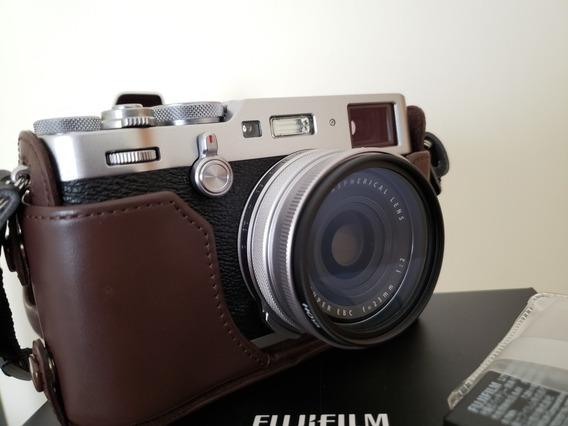 Fujifilm X100f Zerada Com Seguro Nota Fiscal E Acessórios